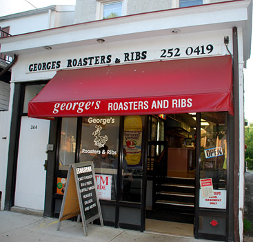 George 39 s roasters ribs in princeton nj photo for Big fish princeton nj